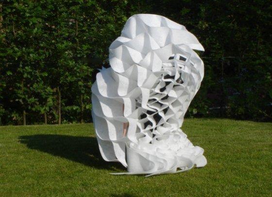 '2D-3D', 2008, Kunst Op Kamers, dance performance, De Rijp, The Netherlands