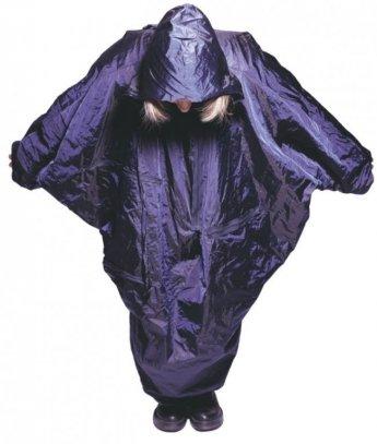 regenjas, winter 1999, polyester en  metaaldraad. PAP