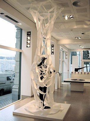 2D-3D cirkels, Henry Vande Veldeprijs 2008, galerij Design Vlaanderen
